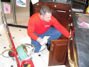 Residential drain cleaning and repair